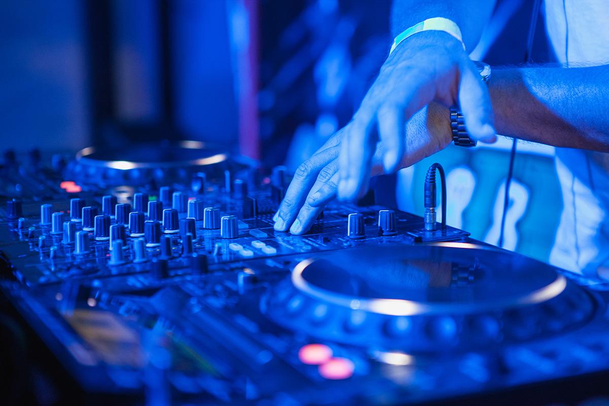 Unser DJ kann auch zum Einsatz kommen